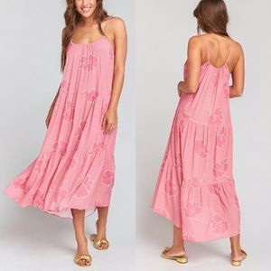 Show me your mumu may lovely floral maxi dress
